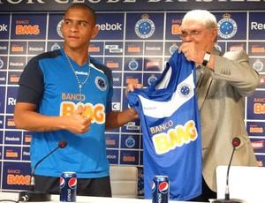 Walter e Gilvan Cruzeiro (Foto: Leonardo Simonini/Globoesporte.com)