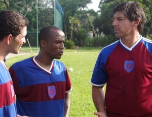 Wilson Gottardo no treino do Bonsucesso (Foto: Divulgação)