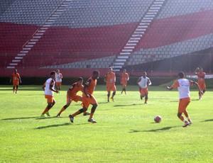 vitória; treino; barradão (Foto: Raphael Carneiro/Globoesporte.com)