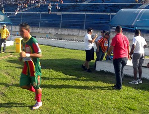 Clodoaldo é o destaque do Juazeirense (Foto: Feirense / Divulgação)