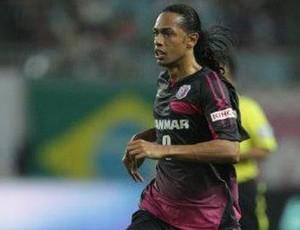 Fábio Lopes, atacante do Cerezo Osaka (Foto: Arquivo Pessoal)