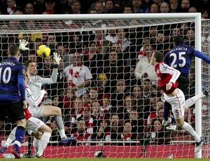 Manchester United x Arsenal (Foto: Agência Efe)