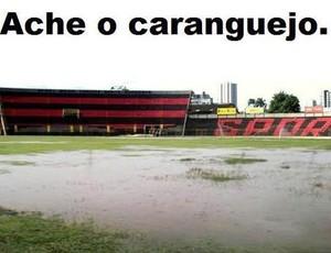 Ilha do Retiro - humor - sport (Foto: Reprodução)