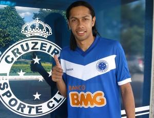 Fabio Lopes, novo atacante do Cruzeiro (Foto: Divulgação )