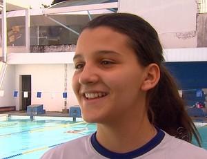 Nadadora amazonse Juliana Albuquerque (Foto: Reprodução - TVAM)