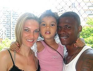 Maicosuel com a família (Foto: Divulgação)