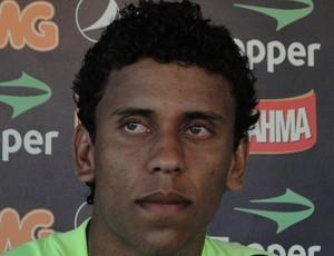 Marcos Rocha, lateral do Atlético-MG (Foto: Fernando Martins/Globoesporte.com)