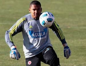 Neco Martínez, goleiro do Once Caldas (Foto: Divilgação/Once Caldas)
