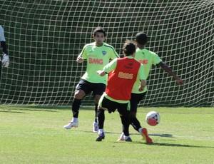 treino atletico-mg  (Foto: Fernando Martins/Globoesporte.com)
