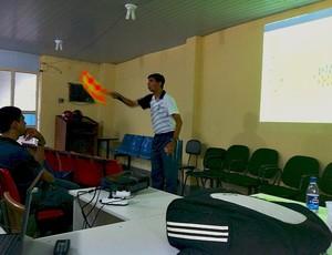 Márcio Verri Brandão instrutor de arbitragem da CBF 1 =24-01-2012 (Foto: Paulo Rogério/Globoesporte.com)