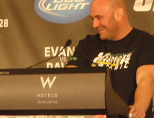 Coletiva UFC - Dana White (Foto: Marcelo Russio/Globoesporte.com)