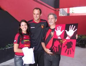 Goleiro Magrão recebeu mais uma homenagem de torcedores (Foto: Divulgação/Sport)