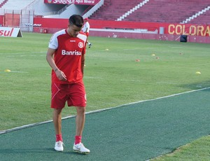 D'alessandro treina no Beira-Rio (Foto: Diego Guichard/Globoesporte.com)