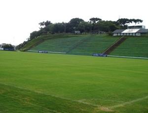 Ecoestádio, estádio do Corinthians-PR (Foto: Fernando Freire/GLOBOESPORTE.COM)