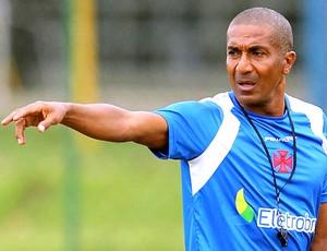 Cristóvão Borges no treino do Vasco (Foto: Marcelo Sadio / Site Oficial do Vasco da Gama)