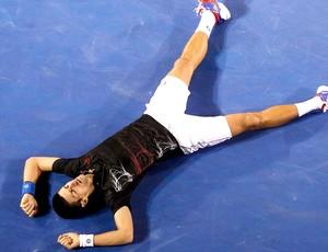 Novak Djokovic tênis Australian Open final (Foto: Reuters)