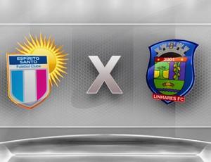 Campeonato Capixaba 2012: Espírito Santo x Linhares (Foto: Globoesporte.com)
