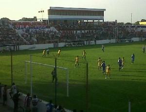 Jogo-treino em Fortaleza e Maracanã no Estádio Alcides Santos (Foto: Divulgação/Fortaleza)