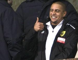 Roberto Carlos no Anzhi (Foto: Getty Images)