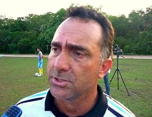 Carlos Tozzi treinador (Foto: Amarildo Silva/Divulgação)