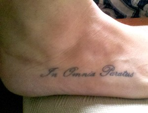 corrida Tatoo Tatuagem Manuela Sampaio (Foto: Arquivo Pessoal)