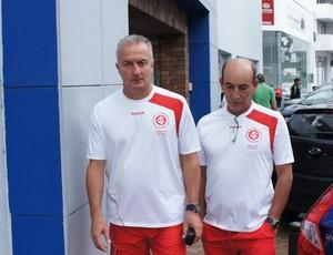 Dorival Júnior Inter Manizales (Foto: Diego Guichard / GLOBOESPORTE.COM)