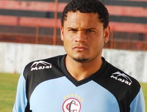 Fábio Júnior na época do Campinense (Foto: Leonardo Silva / Jornal da Paraíba)