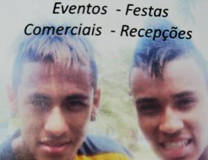 gabriel lucas neymar cover (Foto: Adilson Barros/Globoesporte.com)