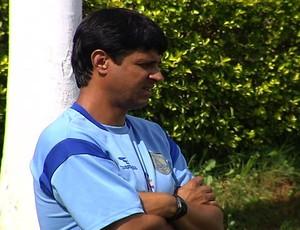 wladmir araújo, técnico da aparecidense (Foto: Reprodução/TV Anhanguera)