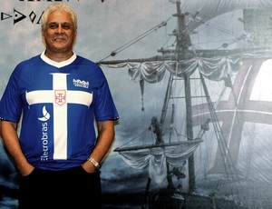 roberto dinamite lançamento da novo uniforme do vasco (Foto: André Durão / Globoesporte.com)