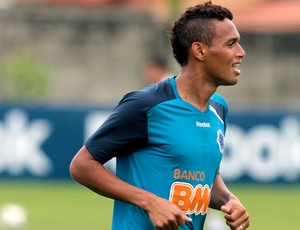 Gilson, lateral do Cruzeiro (Foto: Washington Alves / VIPCOMM)