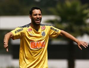 Ibson, no treino do Santos (Foto: divulgação/Santos FC)