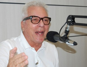 Márcio Braga em entrevista à CBN João Pessoa (Foto: Cadu Vieira)