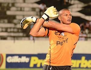 Thiago Cardoso, goleiro do Santa Cruz (Foto: Coralnet)