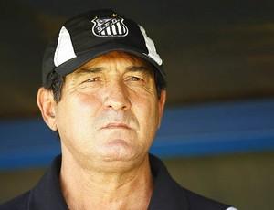Muricy no clássico contra o Palmeiras (Foto: Ricardo Saibun/Divulgação Santos FC)