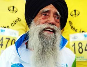 Corrida Maratona de Hong Kong Fauja Singh (Foto: Agência de notícias)
