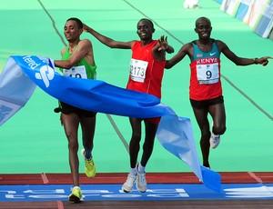 Corrida Maratona de Hong Kong chegada (Foto: Agência de notícias)