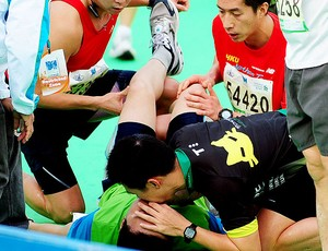 maratonista morre após maratona de Hong Kong (Foto: AFP)