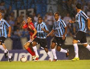 Dátolo e Fernando no Gre-Nal 390 (Foto: Lucas Uebel/Grêmio FBPA)