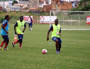 Zé Roberto, Jones e Magno em treino do Bahia no Fazendão (Foto: Divulgação / EC Bahia)