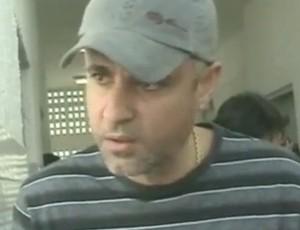 Rodrigo Pinheiro, irmão da suposta vítima de Marcelinho Paraíba (Foto: Reprodução/ TV Paraíba)