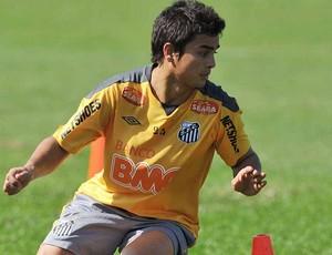 Renan Mota, do Santos (Foto: divulgação/Santos FC)