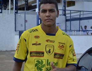 Dairo, novo atacante do Catanduvense (Foto: Divulgação/Catanduvense)
