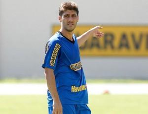 Fellype Gabriel no treino do Botafogo (Foto: Fabio Castro / Divulgação Agif)