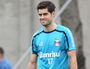 Miralles, atacante do Grêmio (Foto: Wesley Santos/Pressdigital)