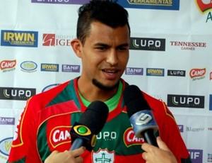 Ricardo Jesus Portuguesa (Foto: Site oficial da Portuguesa / Divulgação)