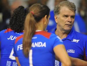 vôlei Rio de Janeiro Bernardinho e Fernanda Venturini (Foto: Bruno de Lima / Vipcomm)