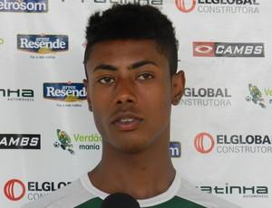 Bruno Henrique, meia-atacante do Uberlândia Esporte (Foto: Hismênia Keller/GLOBOESPORTE.COM)