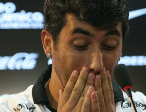 Douglas, do Corinthians (Foto: Anderson Rodrigues / globoesporte.com)