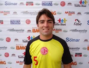 Ricardo Duarte, zagueiro do América TO (Foto: Divulgação / Assessoria do América TO)